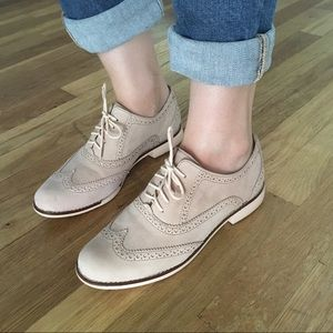 Cole Haan Light Blush Wingtip Oxfords